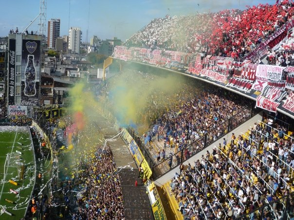 picture from the Boca Juniors River Plate game...