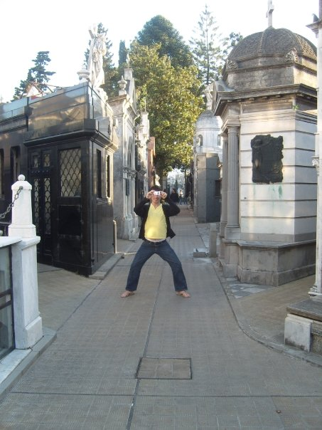 Picture of the Recoleta Cemetry